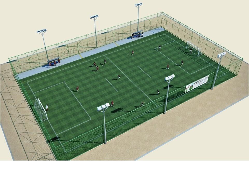 2501cea3e6 SESPORT - Sesport autoriza construção de Campo Bom de Bola II na Serra