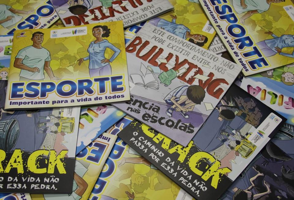 b383e7fa3 SESPORT - Cidadania  núcleos do Esporte Pela Paz receberão livros ...